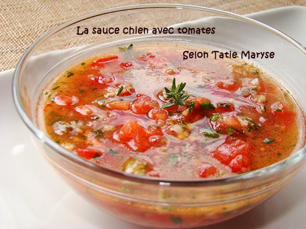 La sauce chien avec tomate id ale pour le poisson - Recette de cuisine antillaise guadeloupe ...