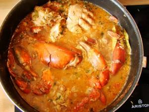 matoutou crabe recette antillaise