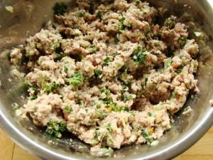 ingrédients pâtés salés de noel