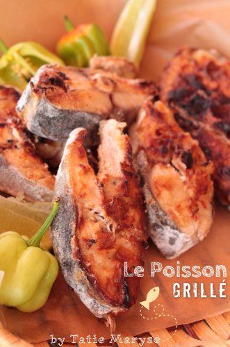 poisson grillé antillais