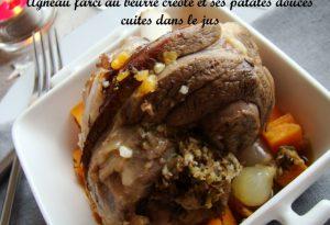 agneau farci patates douces