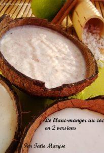 blanc manger coco