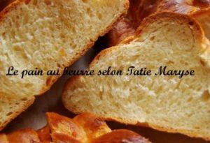recette pain au beurre Martinique