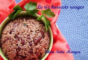 riz haricots rouges