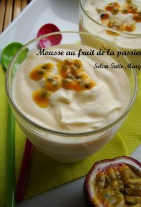 mousse fruit passion