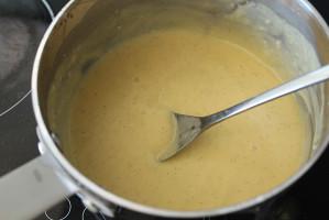 Réaliser crème patissiere coco Mont Blanc