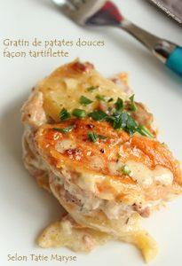 gratin patate douce légumes antillais