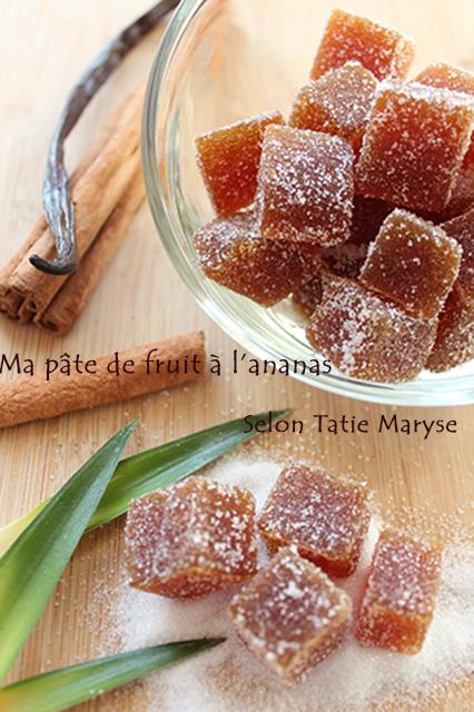 Comme il est simple de r aliser des p tes de fruits maison - Pate de fruit maison ...