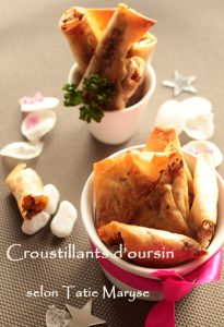 croustillant oursin