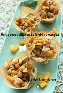salsa mangue lambi