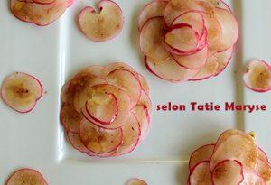 salade de pommes d'eau