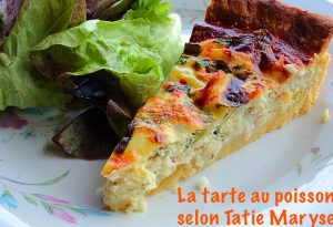 Tarte antillaise au poisson