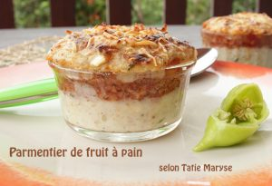 parmentier fruit à pain