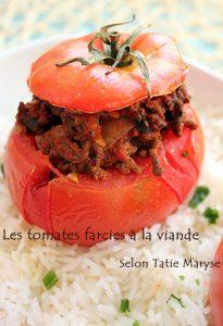 tomates farcies antillaises recettes avec peu d'ingrédients