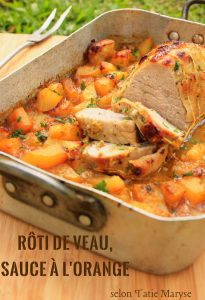 rôti de viande créole