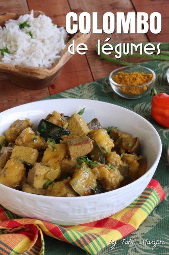 Colombo de légumes et tofu