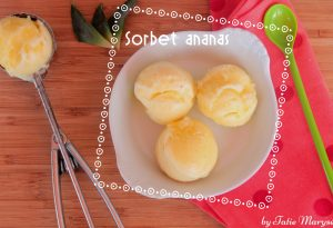 sorbet ananas antillais