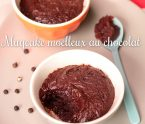 Mugcake moelleux au chocolat