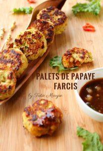 palets de poulet à la papaye