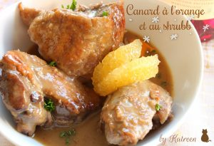 Canard à l'orange antillais
