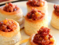 Bouchees jambon antillais