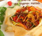 Tarte fine aux légumes cuisson des légumes recettes croustillantes