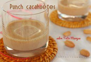 Punch cacahuètes martinique