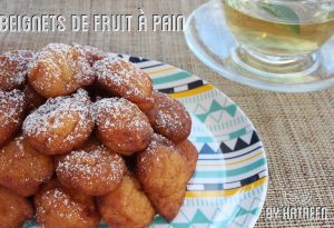 beignets de fruit à pain doux