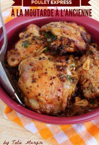 poulet à la moutarde créole recettes avec peu d'ingrédients