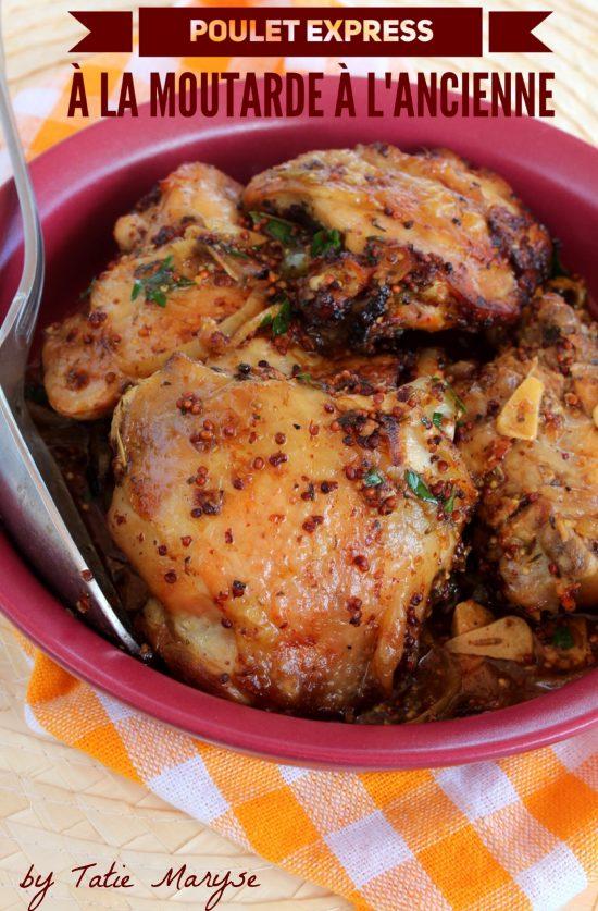 poulet à la moutarde créole