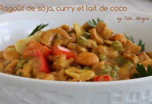 curry de soja au lait de coco