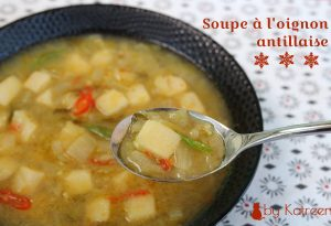 soupe à l'oignon antillaise