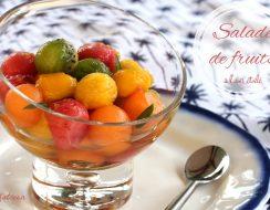 salade de fruits à l'anis