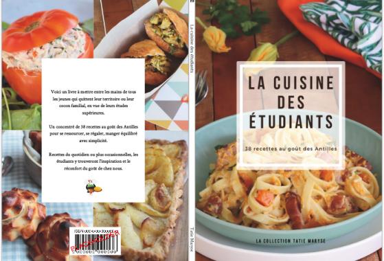 Livre Tatie Maryse cuisine des étudiants