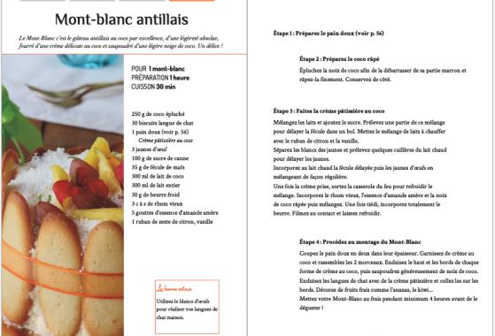 Livre Tatie Maryse cuisine antillaise typique