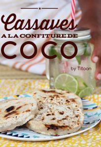 cassave créole confiture de coco