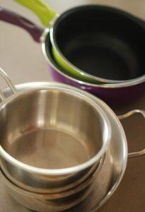 casseroles inox ou téflon