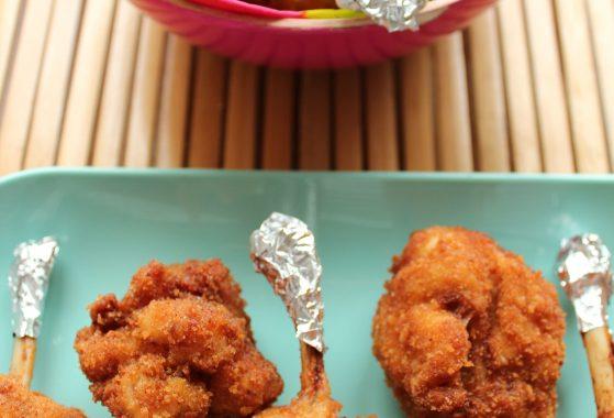 poulet pané - atelier USAntilles Tatie Maryse
