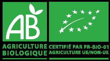 agriculture biologique logo AB et écofeuille