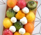 sablé aux fruits tropicaux antillais