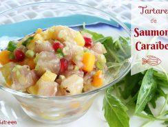 tartare saumon caraïbe