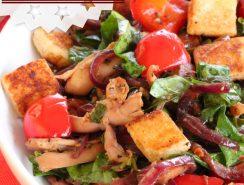 salade tiède poulet épinard