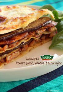 Lasagnes panzani au poulet fumé