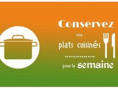 conserver les plats cuisinés