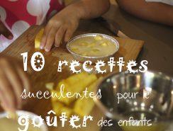 recettes goûters enfants