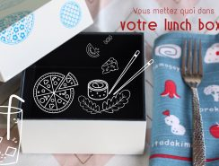 composition lunch box antillaise
