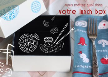 composition lunch box antillaise