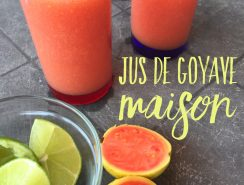 Jus de goyave martinique