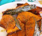 Giraumon rôti Manger local cuisson des légumes antillais
