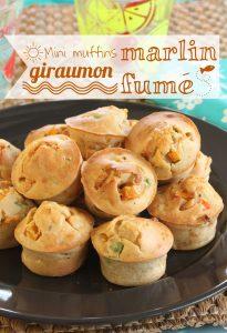 muffin marlin fumé giraumon Apéro vidéo